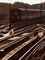 列車と線路の写真