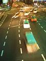 夜の交差点の写真