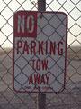 駐車禁止の写真