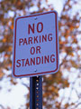 駐停車禁止の写真