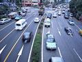 都市の交通の写真