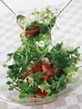 トマトとハーブのサラダの写真