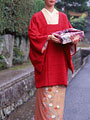 着物の女性の写真