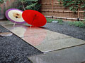 番傘の写真