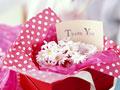 花のギフトボックスの写真