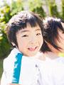 笑顔の男の子の写真