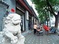 ライオンの石像の写真