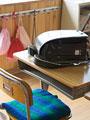 教室のランドセルの写真