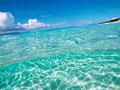 海と青空の写真