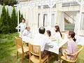 ガーデンパーティーの写真