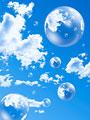 青空と地球の写真