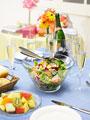 パーティー料理の写真