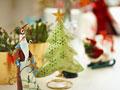 クリスマス飾りの写真