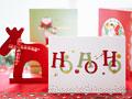 クリスマスカードの写真