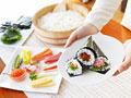 手巻き寿司の写真