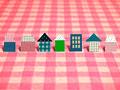ポップな住宅のイメージの写真