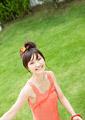 若い女性の写真