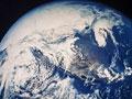 地球(NASA提供)の写真