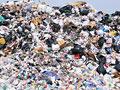 廃棄物処理場の写真