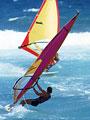 ウインドサーフィンの写真