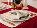 テーブルセッティングの写真