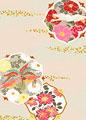 花紋に鳳凰の写真