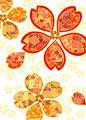 飾り桜の写真
