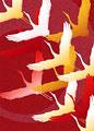 鶴の舞いの写真